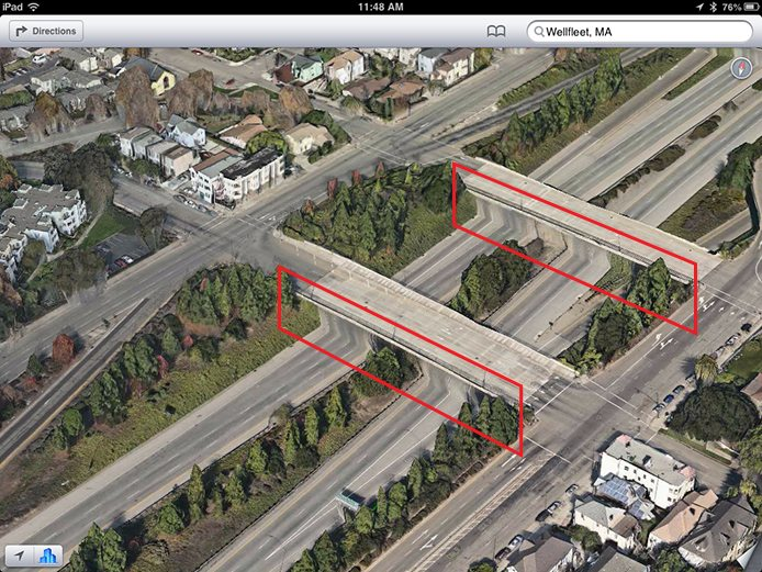 Apple-Maps-3D-rendering-issues