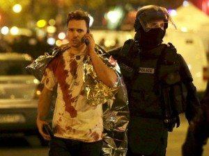 A survivor of the Paris attacks / PHOTO: Reuters