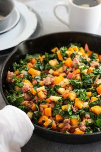 Butternut Squash & Apple Hash | Photo: The Real Food Dietitians