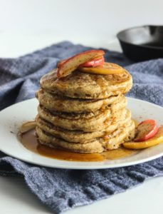 Apple Cinnamon Pancakes | Photo: Lively Table