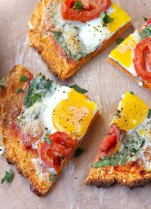 Sweet Potato Breakfast Pizza